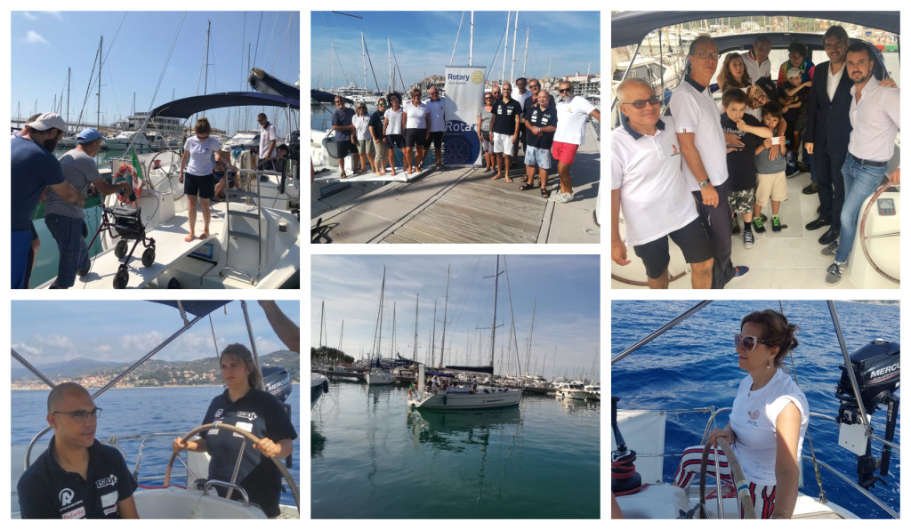 rotary club imperia uscite in barca