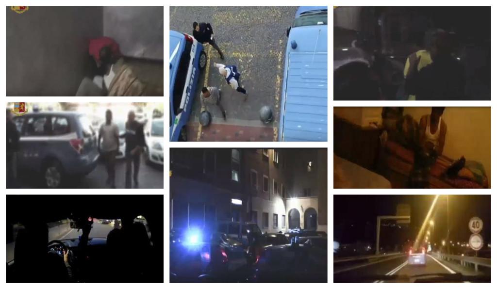 traffico esseri umani arresto 8 passeur polizia