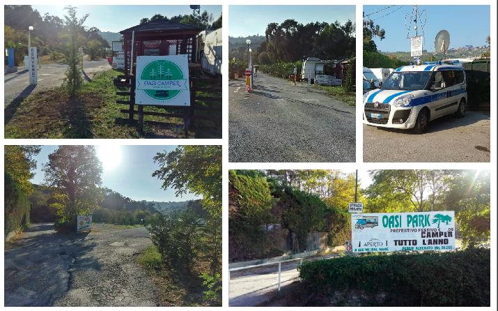 oasi-park-diano-marina-multa-polizia-municipale-campeggio