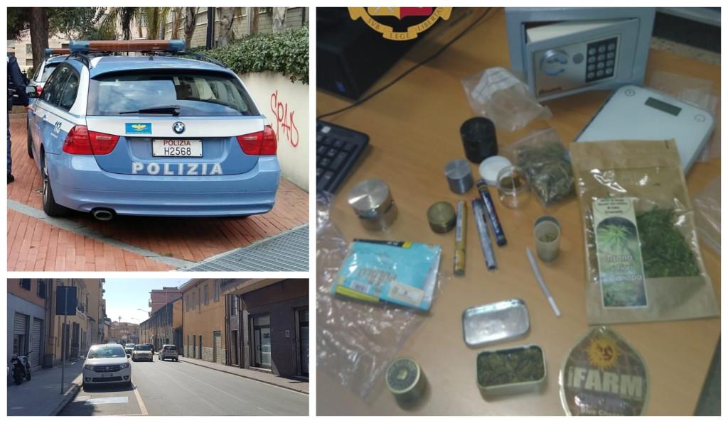 polizia denuncia marijuana via nazionale