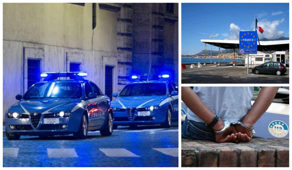 polizia rontiera arresto passeur