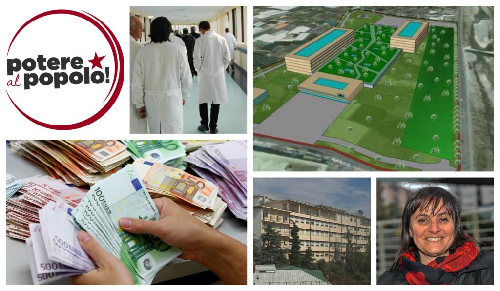 potere al popolo ospedale unico progetto