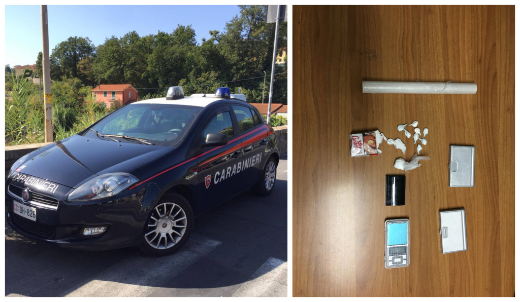 pusher arresto carabinieri