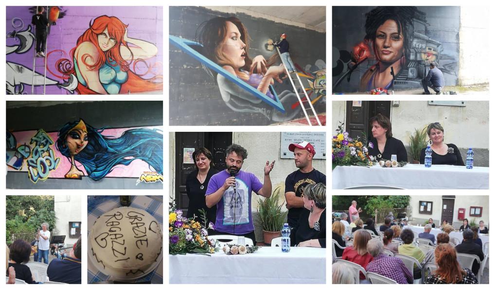 vessalico murales contro violenza donne