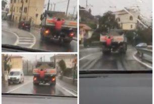 appeso-camion-aurelia-imperia-video-virale