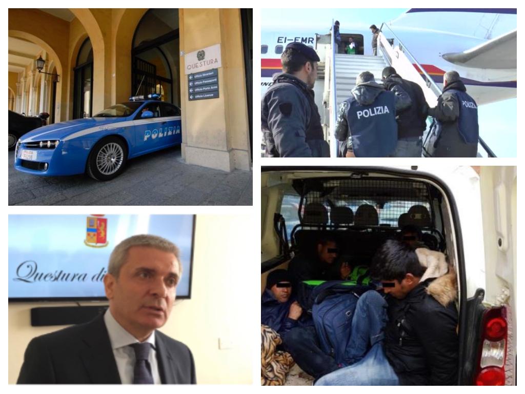 Immigrazione clandestina la questura di imperia tra le for Numero di politici in italia