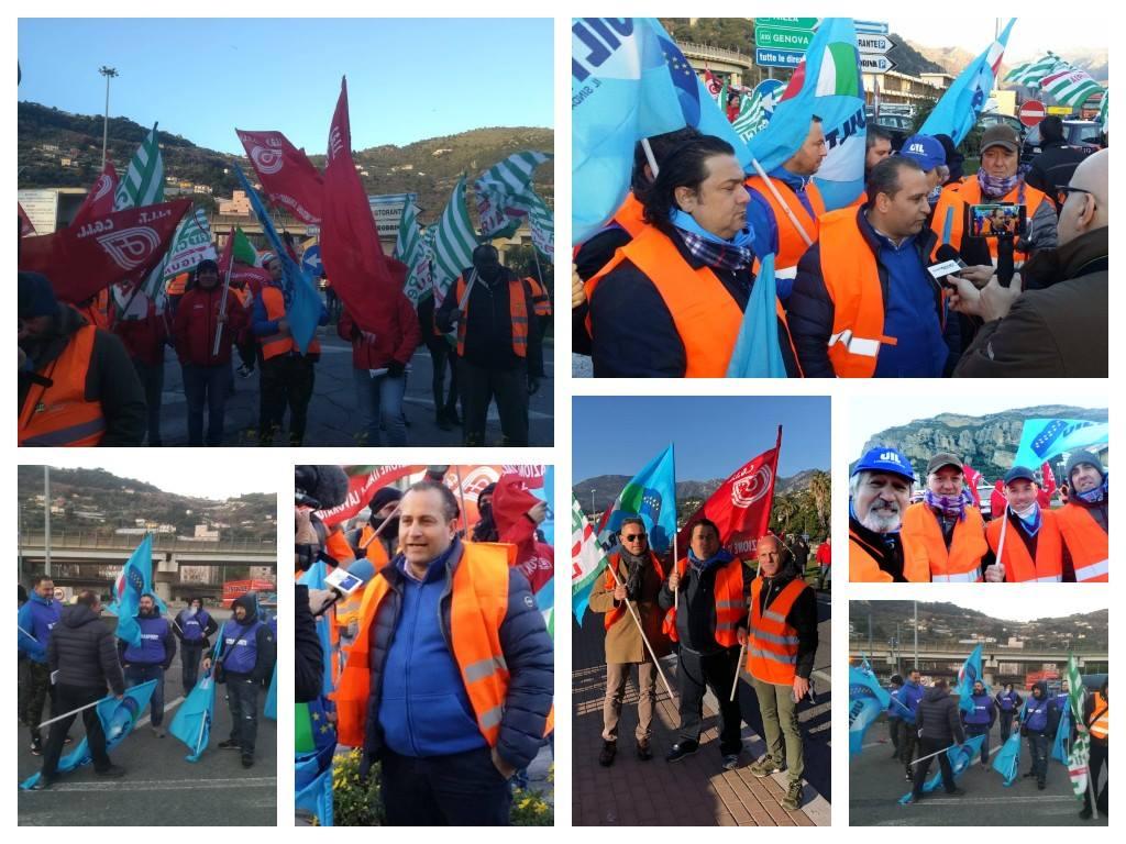 trasporti-protesta-sciopero-ventimiglia-camion