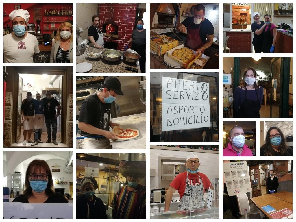 Reportage nei ristoranti e nelle pizzerie imperiesi al tempo del Take Away