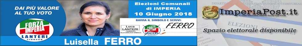 Luisella Ferro candidata alle prossime elezioni comunali di Imperia